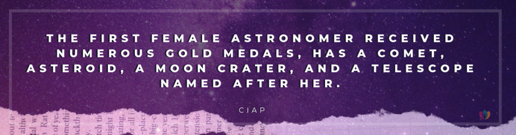 first female astronomer