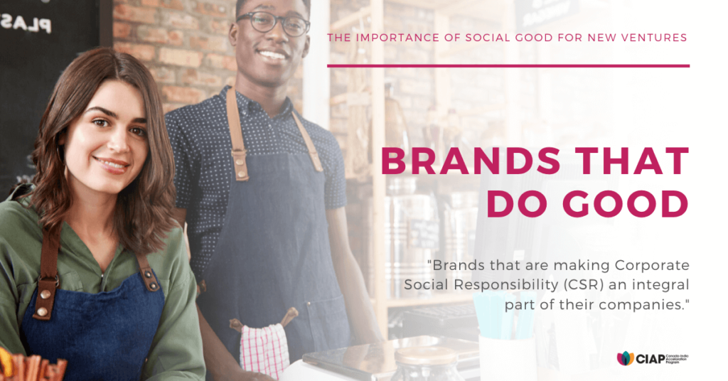 Brands that do social good
