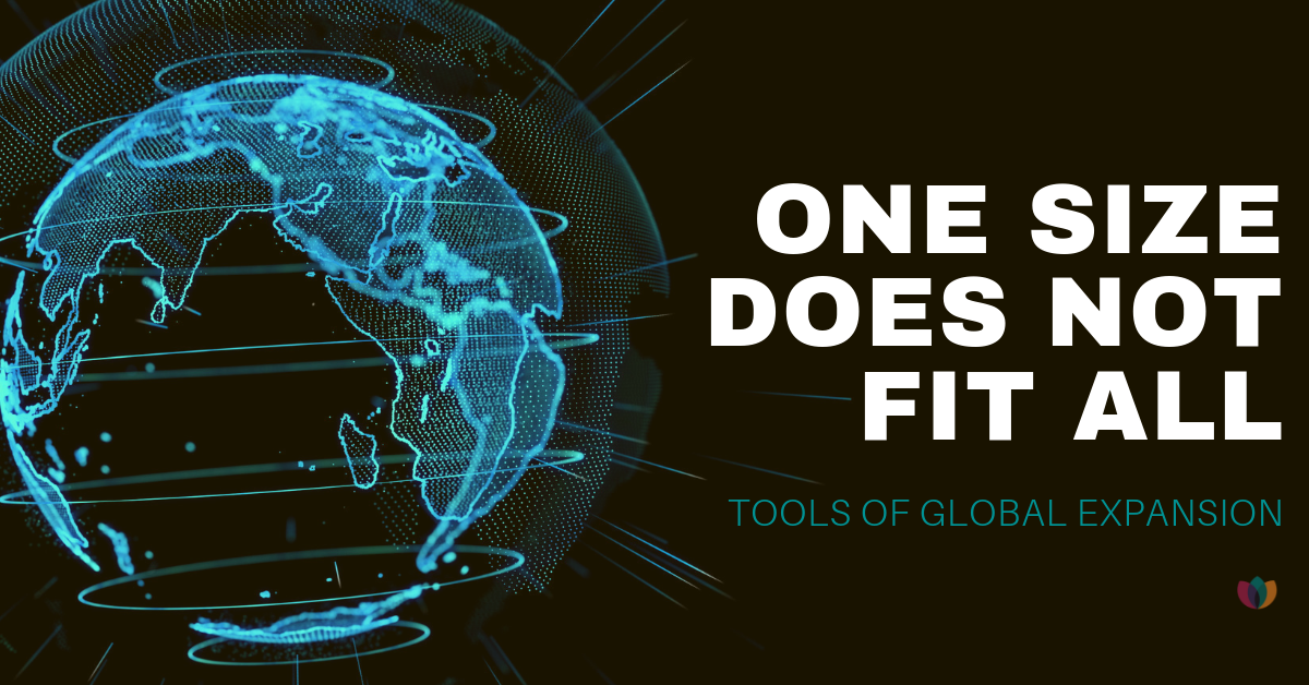 One Size Does Not Fit All: Tools of Global Expansion