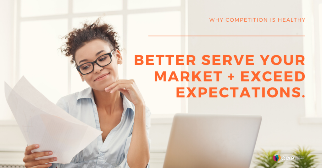 Serve and grow your market share