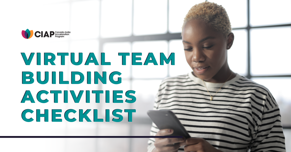 Virtual Team Building Activities Checklist