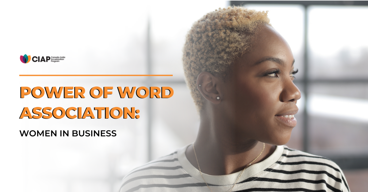 Power of Word Association: Women in Business