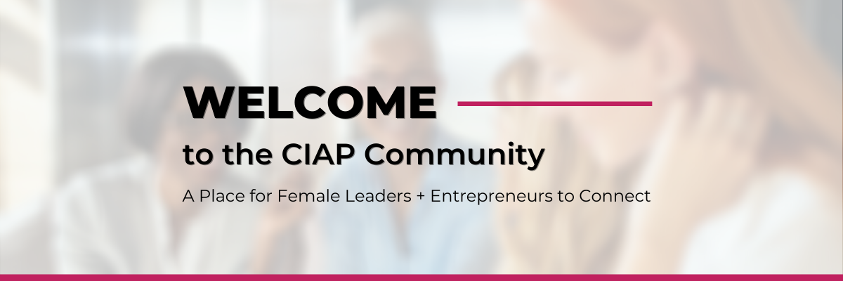Welcome to CIAP Sign-In Tile 1200x400px