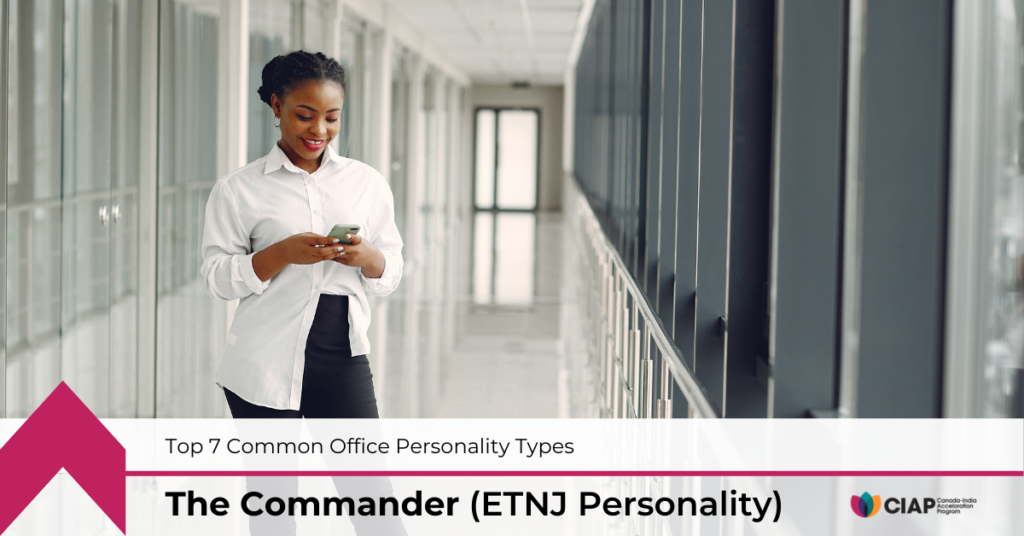 Motivating the Commander — ENTJ Personality