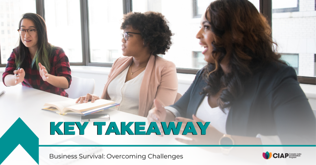 Business Survival: Overcoming Challenges Key Takeaway